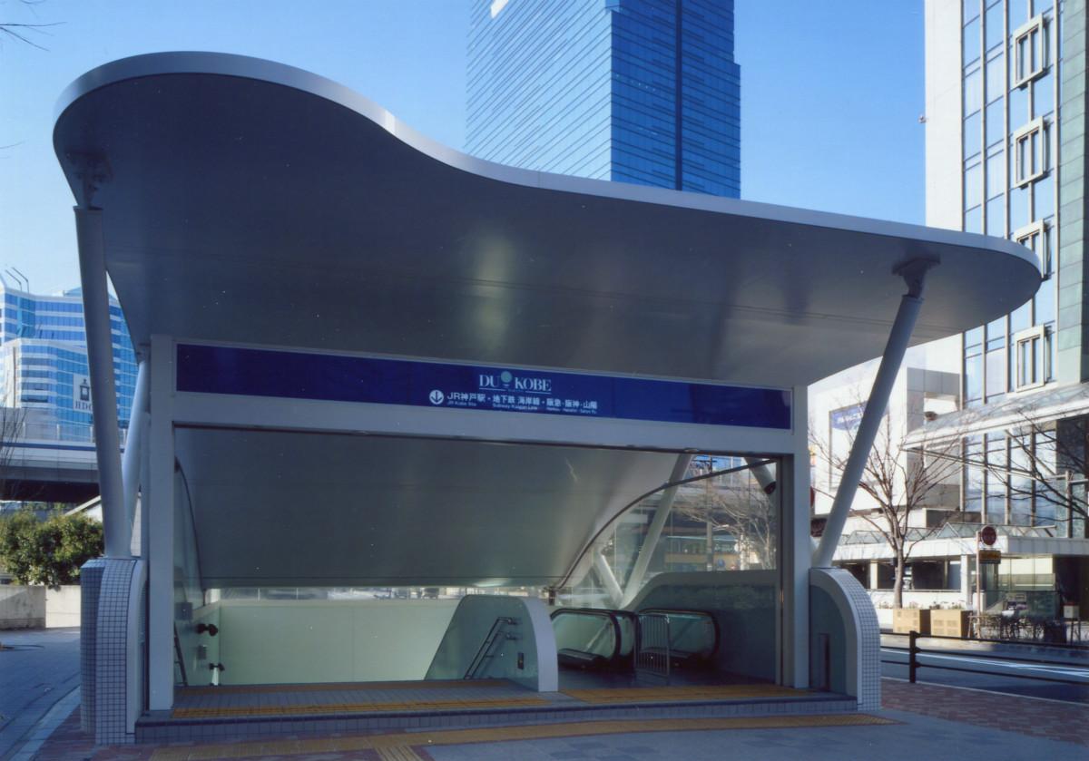 神戸ハーバーランド地下街出入口
